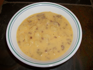 Scrumptious Cheeseburger Soup