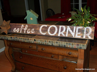 Coffee Corner Sign
