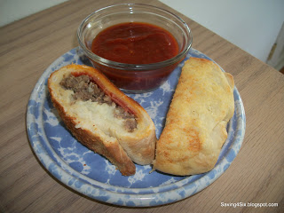 Frozen Bread Dough Stromboli