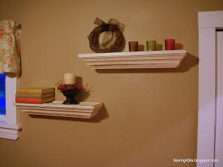 Finishing Some Shelves
