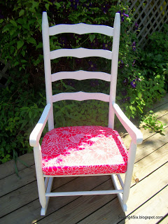 $5 Rocking Chair Makeover