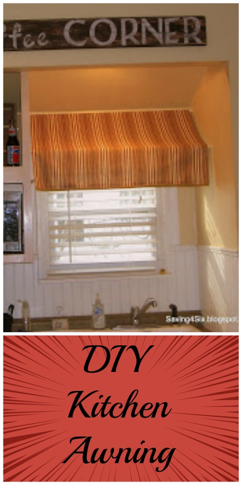 DIY Kitchen Awning