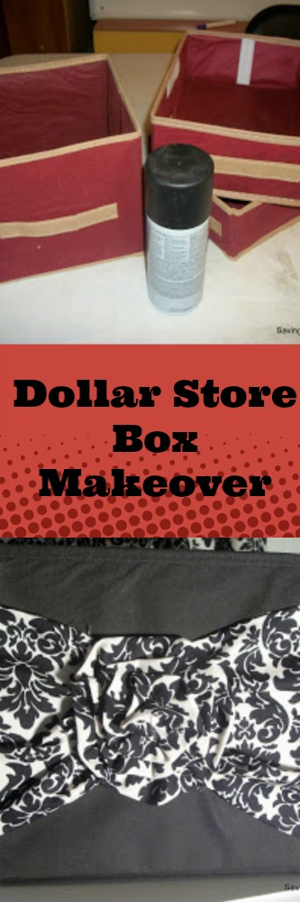 Dollar Store Box Makeover
