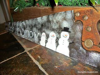 Wednesday's What I Found – Super Easy Snowman Saw