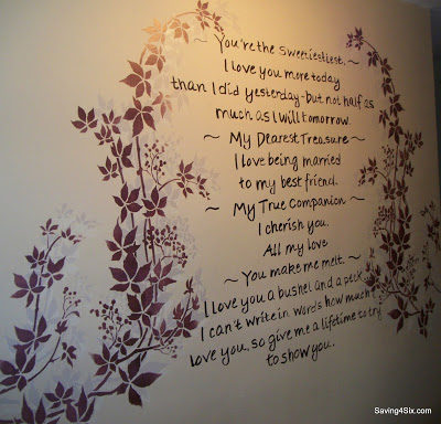 Love Letter on the Wall
