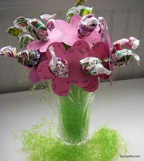 Spring Lollipop Bouquet