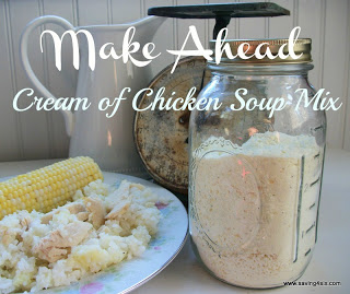 Make Ahead Cream of Chicken Soup Mix