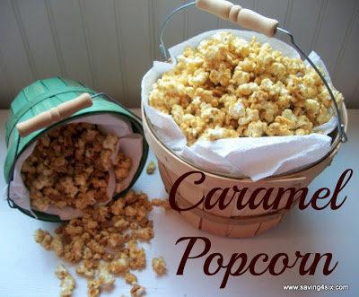 Scrumptious Caramel Popcorn