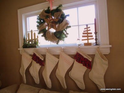 The DIY Canvas Tarp Stockings Were Hung…