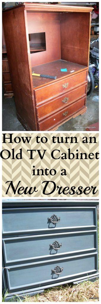 TV Cabinet to Dresser