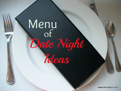 Menu of Date Night Ideas