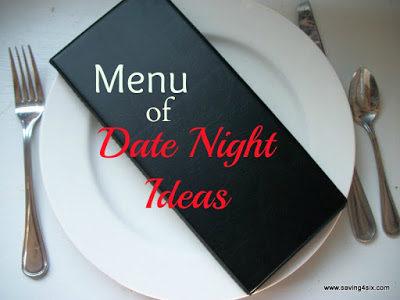 Menu of Date Night Ideas
