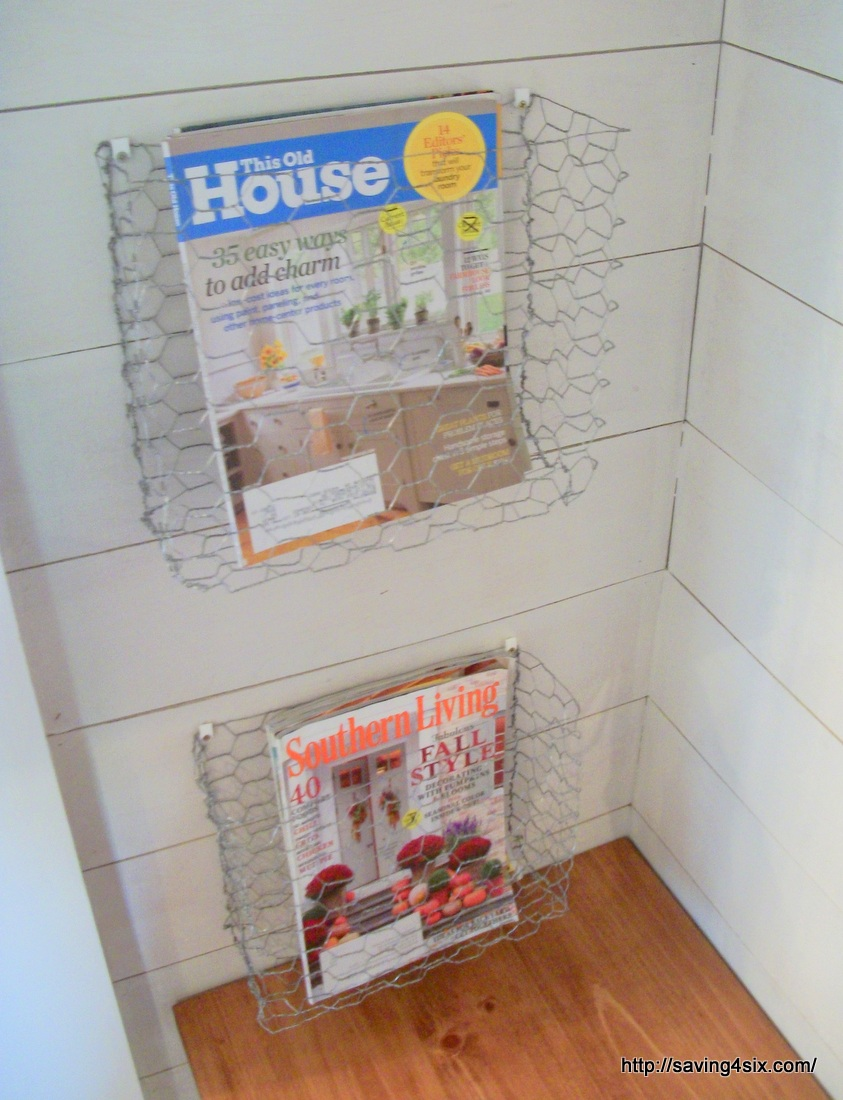 Diy wire magazine rack wire center diy chicken wire magazine baskets rh saving4six com do it yourself magazine rack bath magazine rack solutioingenieria Choice Image