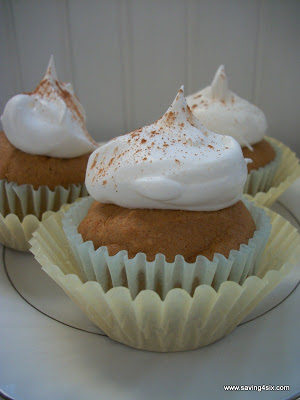 Simple Healthier Spice Cupcakes