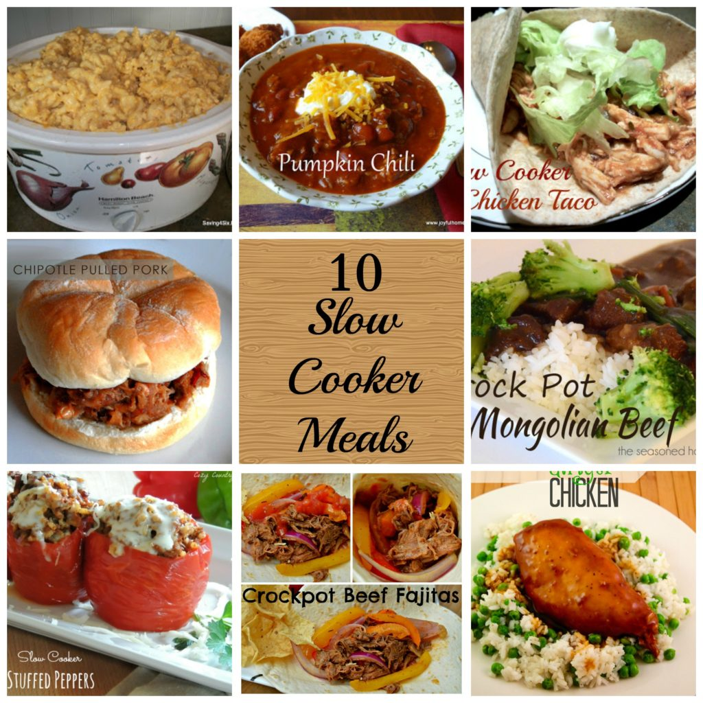 Slow Cooker Dinners: 10 Slow Cooker Meal Ideas