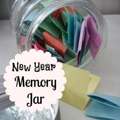 New Year Memory Jar