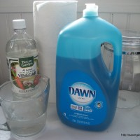 Homemade Disinfectant Wipes