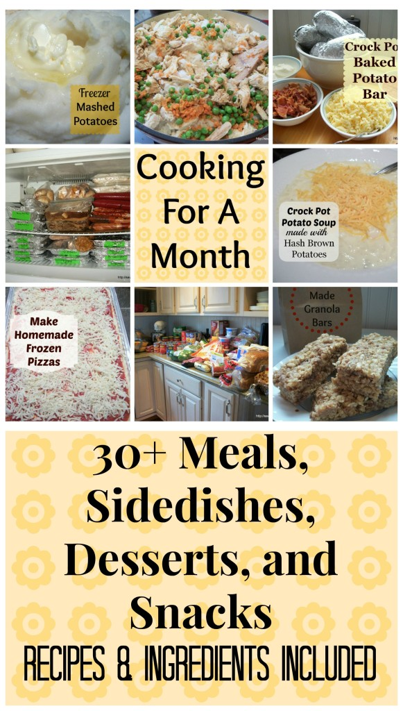 Cooking for a Month 2