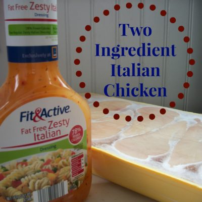 Two Ingredient Crock Pot Chicken