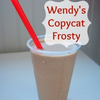 Wendy's Copycat Frosty