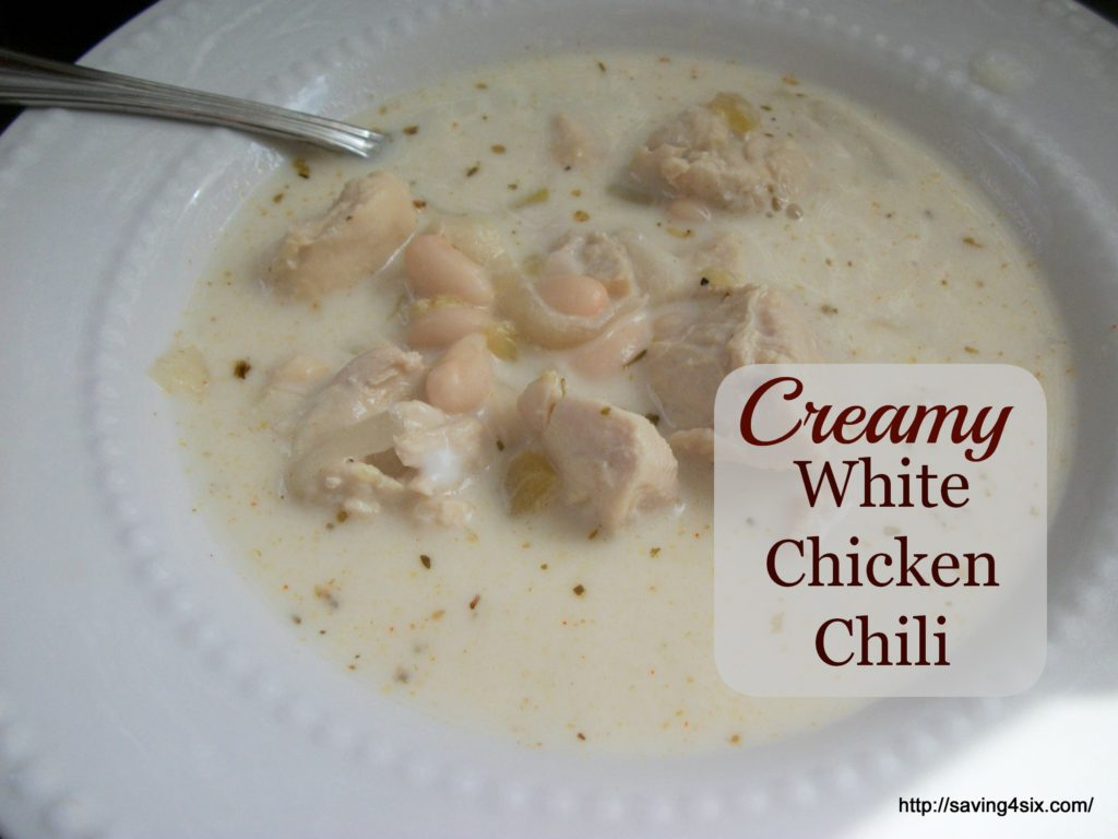 Creamy White Chicken Chili 1