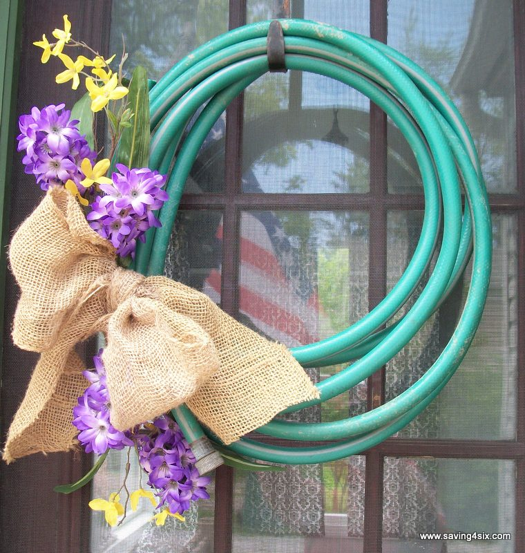 Water Hose Wreath