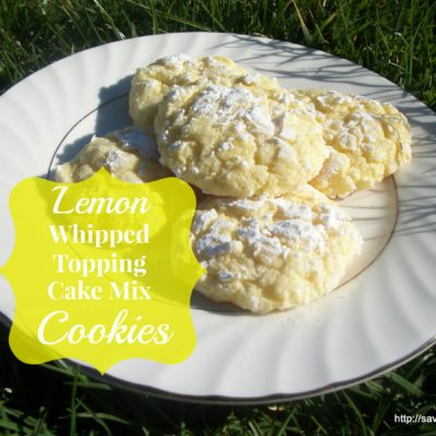 Lemon Whipped Topping Cake Mix Cookies