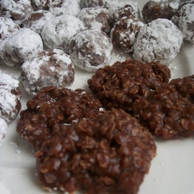 No Bake Cookie Balls