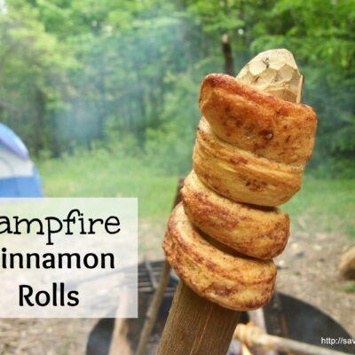 Camp Fire Cinnamon Rolls