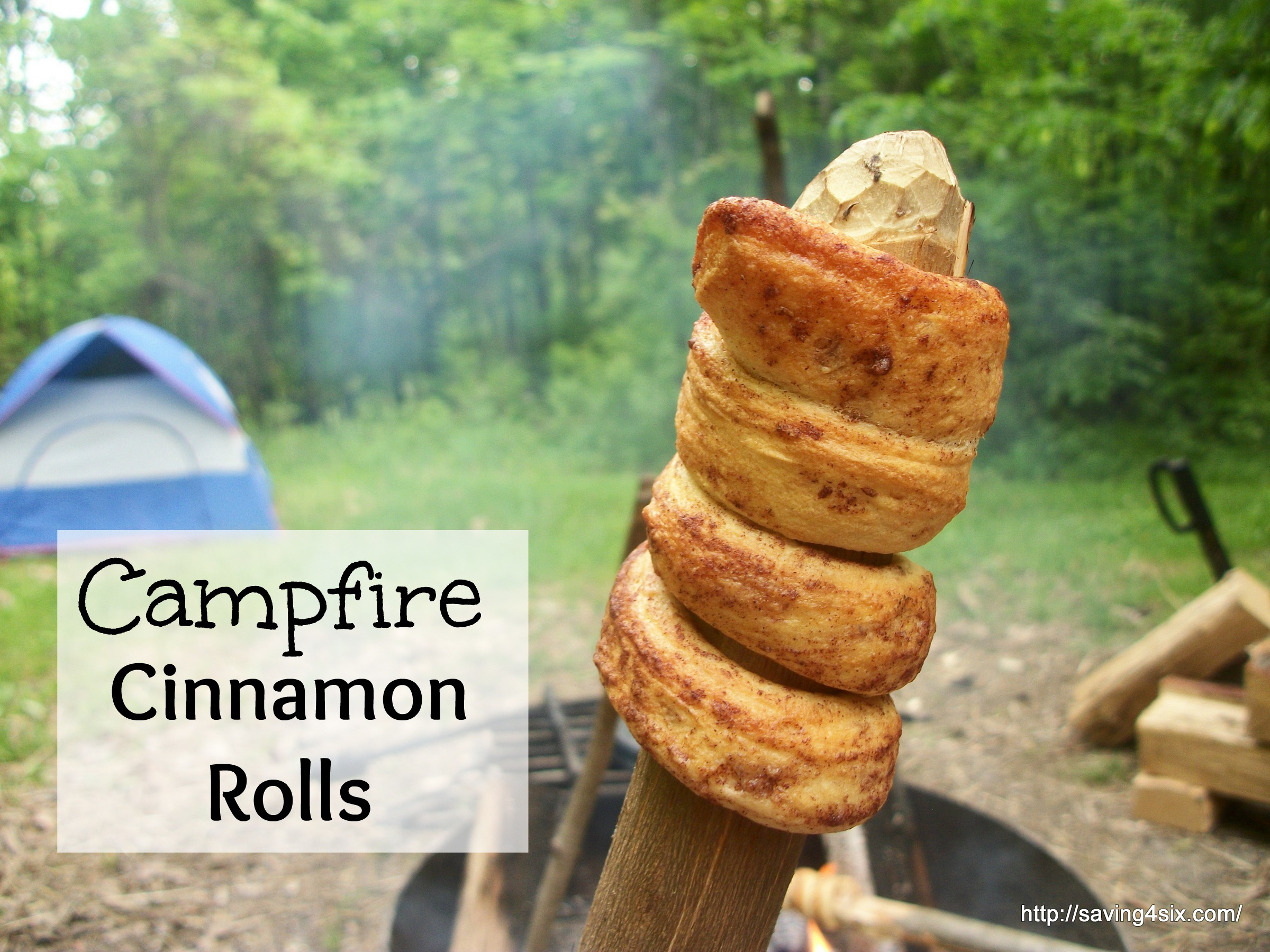 Camp Fire Cinnamon Rolls