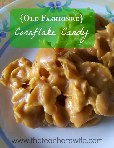 Old Fashioned Cornflake Candy