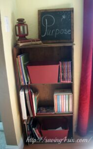 Turning a $1 Drawer Into A Bookshelf
