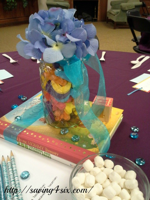 Story book baby shower centerpiece 3