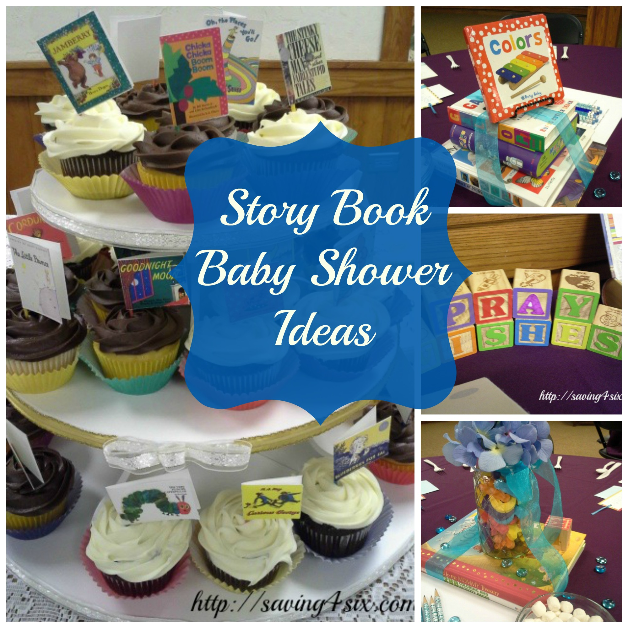 pics photos storybook themed baby shower