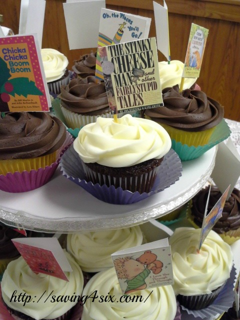 Story book cupcakes 3