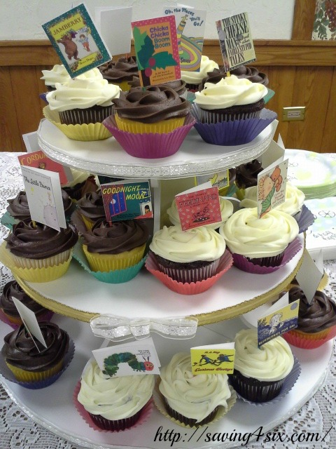 Story book cupcakes