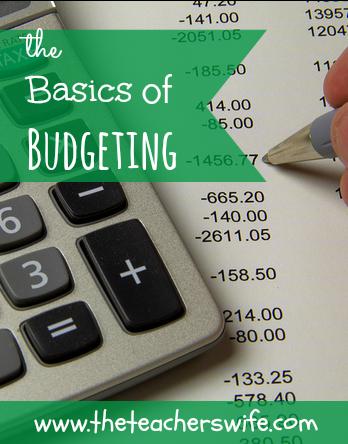 The Basics of Budgeting