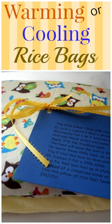 Warming or Cooling Rice Bags