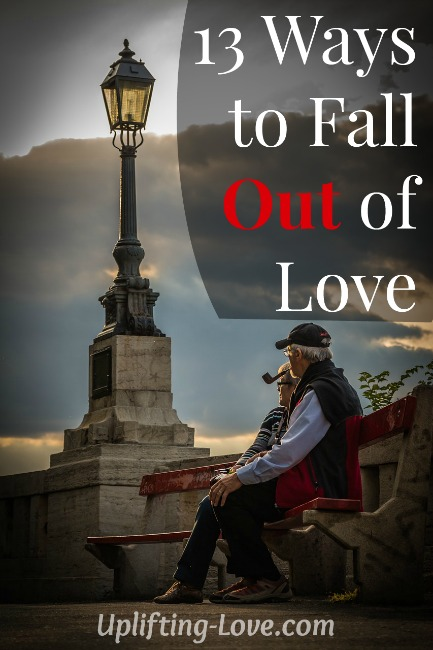 13 Ways to Fall Out of Love