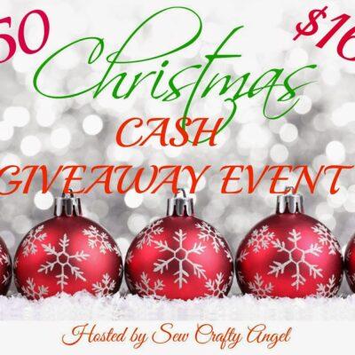 HUGE Christmas Cash Giveaway