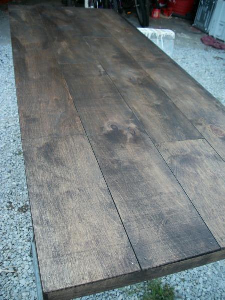 sawhorse desk 10