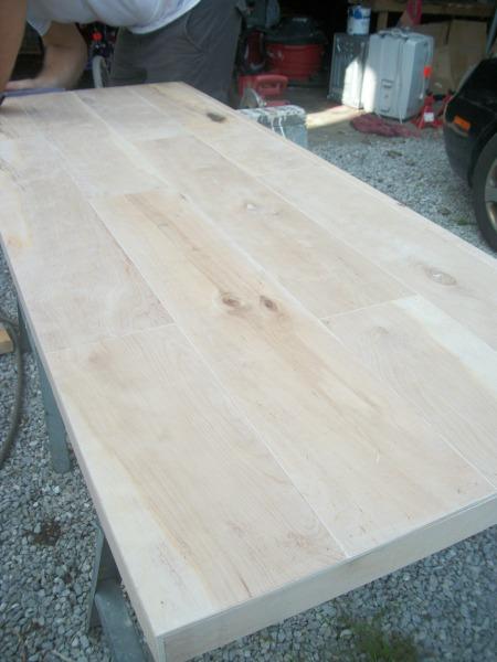 sawhorse desk 8