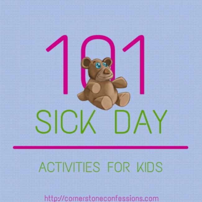 101 sick day activities