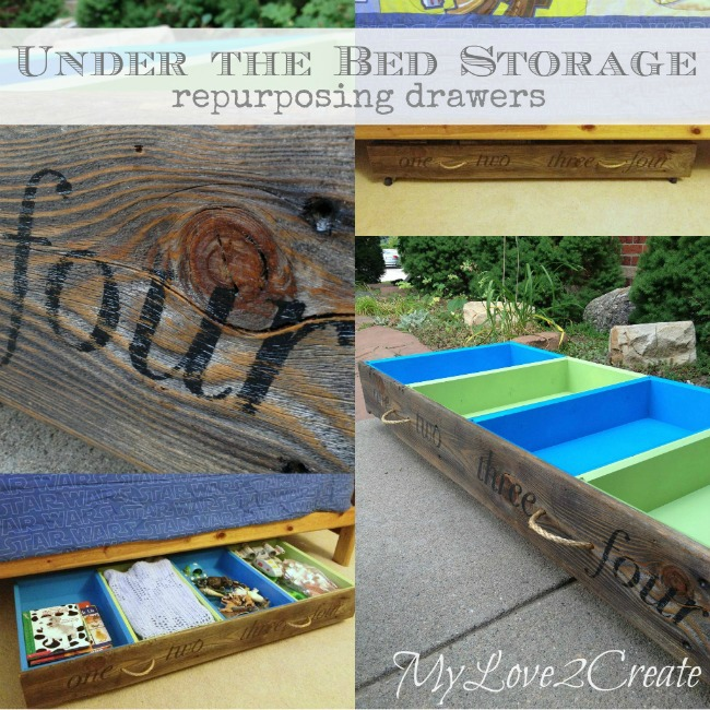 MyLove2Create, under the bed storage pin