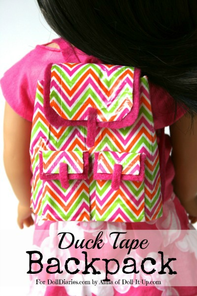 Duck Tape Backpack