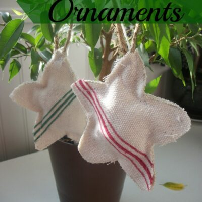 Grain Sack Ornaments
