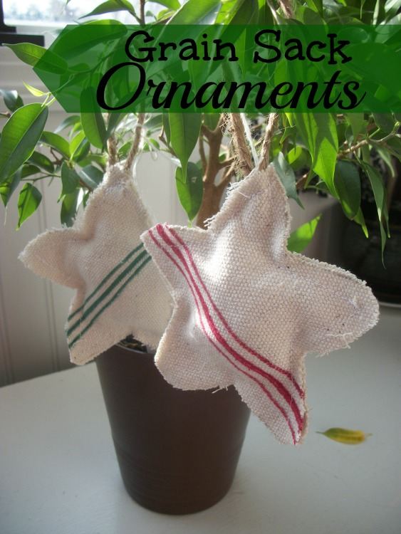 Grain Sack Ornaments
