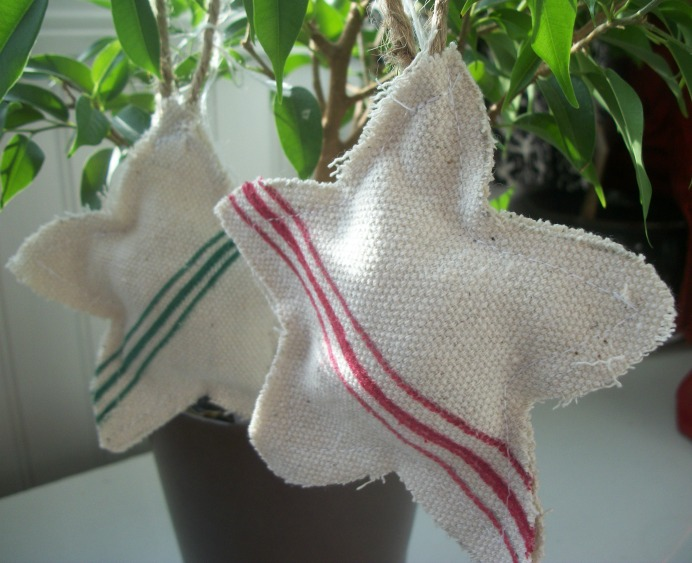 grain sack ornaments 1