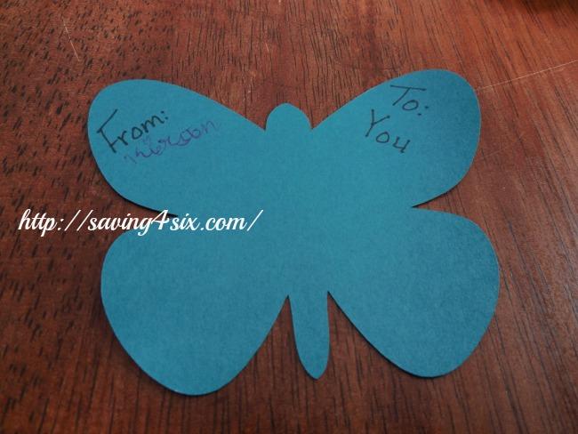 Valentine Butterfly 2