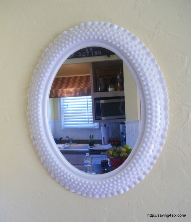 mirror before